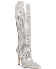Violetta-R Rhinestone Boots