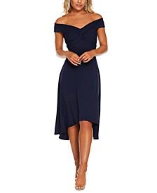 Bardot Off-The-Shoulder Dress