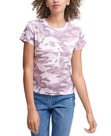 Camo-Print Logo T-Shirt