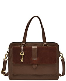 Women's Kinley Leather Satchel