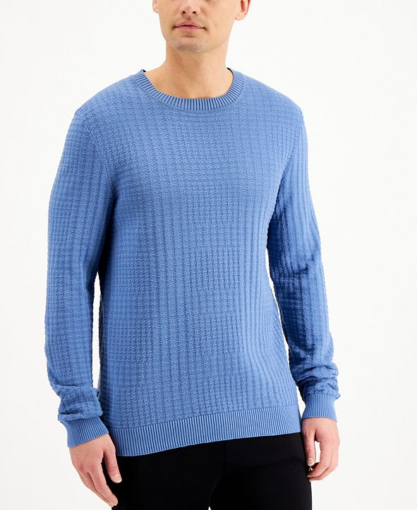 HUGO Men's Srever Sweater
