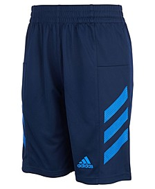 Big Boys AEROREADY Pro Sport 3-Stripe Mesh Shorts