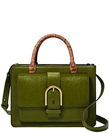 Women's Wiley Leather Satchel