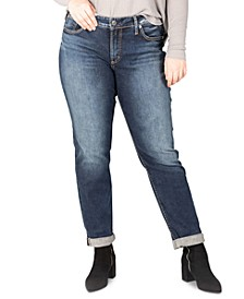 Trendy Plus Size Boyfriend Jeans