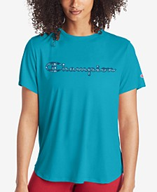 Women's Cotton Logo Boyfriend T-Shirt