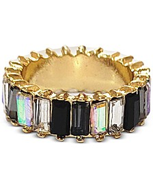 INC Gold-Tone Baguette Stone Ring, Created for Macy's