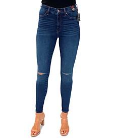 Juniors' Curvy High-Rise Skinny Jeans