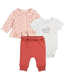 Baby Girl 3pc Jacket Set