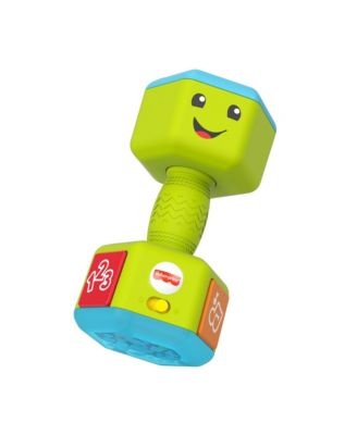 Fisher-Price Laugh & Learn Countin' Reps Dumbbell