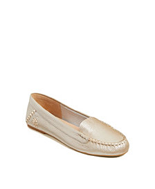 Jack Rogers Women's Millie Mocassin Tumbled Leather