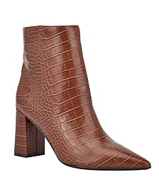 Women's Medium Cacey 9X9 Heeled Booties