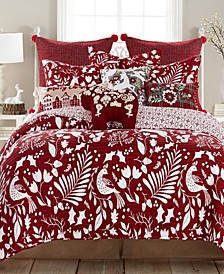 Bretton Woods Reversible Twin Quilt