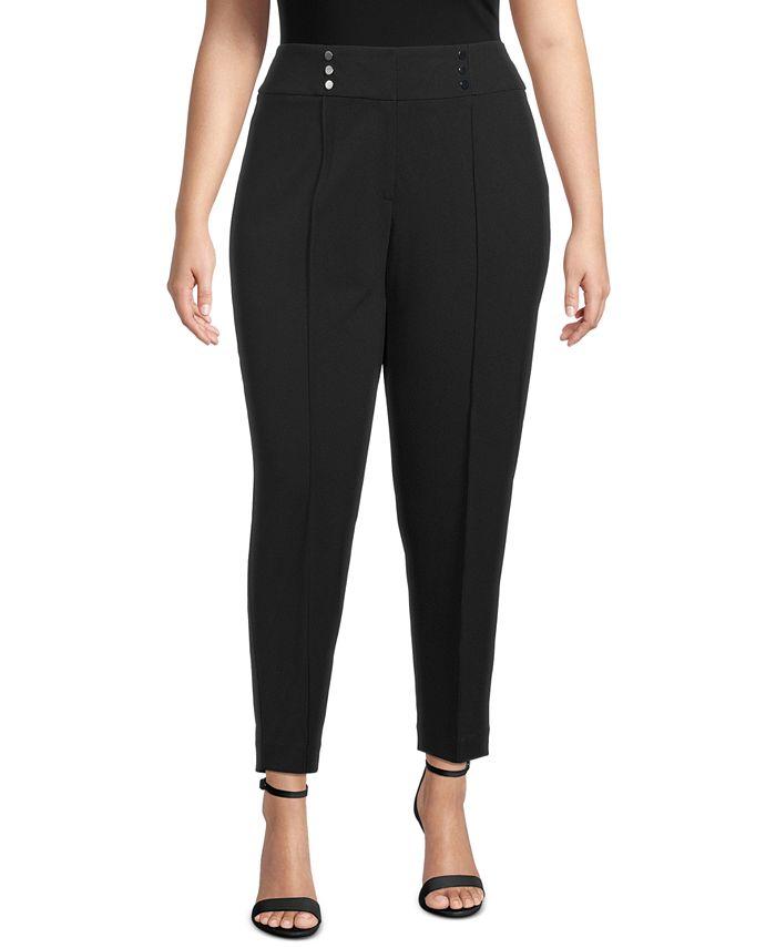 Kasper - Plus Size Pull-On Pants