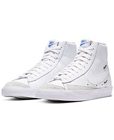 Women's Blazer Mid 77 SE High Top Casual Sneakers from Finish Line