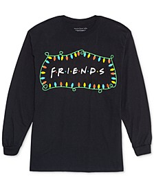 Trendy Plus Size Friends Christmas Top