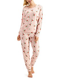 Pajamas & Scrunchie Set, Created for Macy's