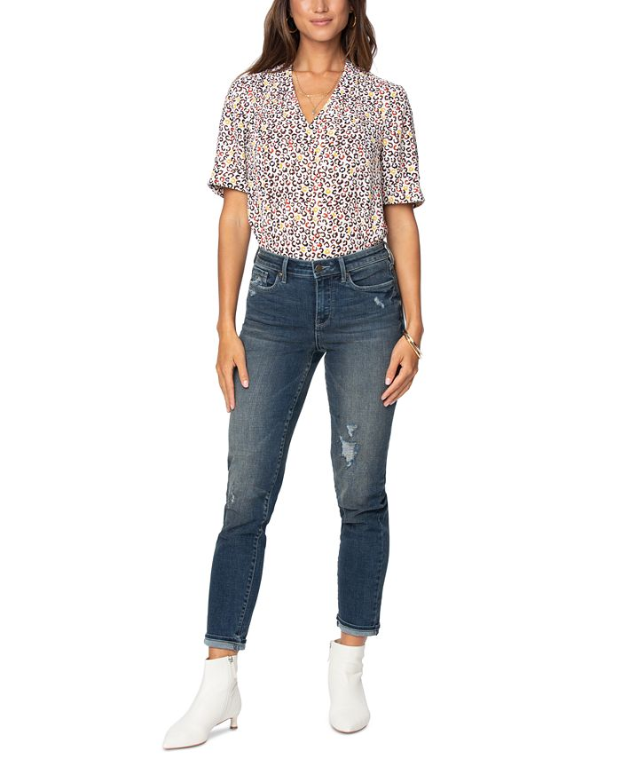 NYDJ - Easy Fit Roll-Cuff Ankle Jeans