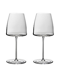 Metro Chic White Wine Glasses - Set of 2