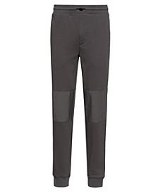 Men's Ditzroy Sweatpants with Tonal Woven Nylon Details and Hu93 Logo