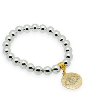 Hematite Gemstone Beaded Bracelet
