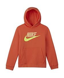 Big Boys Sportswear Club Fleece Pullover Hoodie (Extended Size)