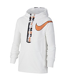 Big Boys Dri-fit Graphic Half-Zip Training Hoodie