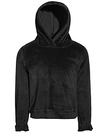 Little Girls Velour Hoodie, Created for Macy's
