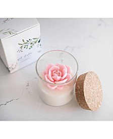 Poppy Floral Soy Candle