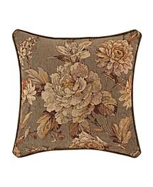 "Camellia 18"" Square Decorative Throw Pillow"