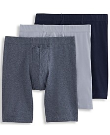 Men's 3-Pack Relaxed Cooling Comfort Midway Briefs