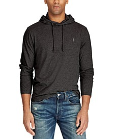 Men's Big & Tall Hooded Long Sleeve T-Shirt
