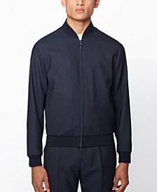 BOSS Men's Nolwin Slim-Fit Blouson-Style Jacket