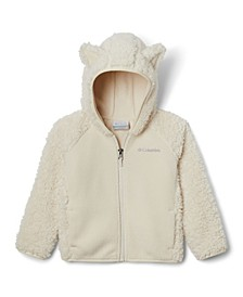 Toddler Girls and Boys Foxy Sherpa Full Zip Jacket