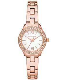 Women's Liliane Rose Gold-Tone Stainless Steel Bracelet Watch 28mm