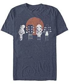 Men's Generic Additude Guitar Heads Short Sleeve T-shirt