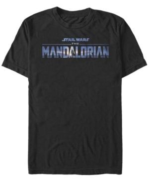 Fifth Sun Men's New Mandalorian Logo Short Sleeve Crew T-shirt