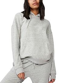 Women's Dad Maxi Peached Hooded Sweatshirt