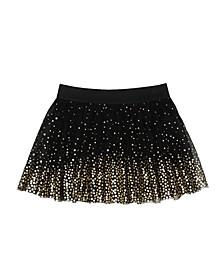 Toddler Girls All Over Foil Star Tutu Skirt