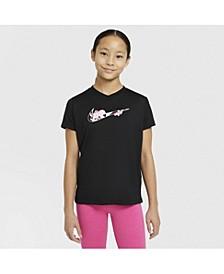 Dry-Fit Big Girl's T-Shirt
