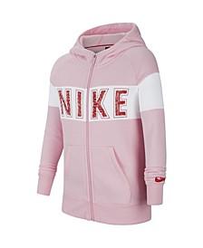 Sportswear Big Girl's Graphic Full-Zip Hoodie