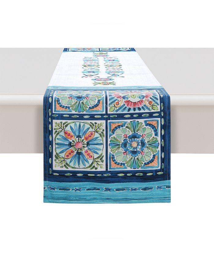 Laural Home - Boho Plaza 13x90 Table Runner