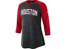 Houston Rockets Women's Three Quarter Statement Raglan Shirt