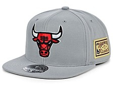 Chicago Bulls Championship Patch Fitted Cap