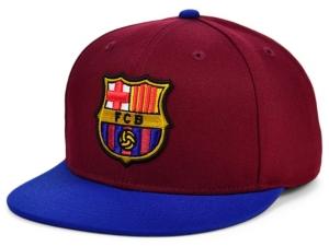 Fc Barcelona Team Logo Snapback Cap