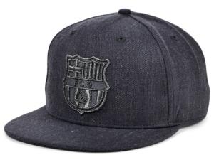 Fc Barcelona Platinum Snapback Cap