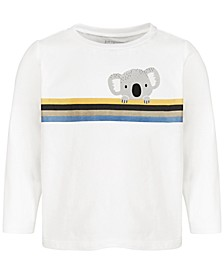 Baby Boys Koala Stripe Cotton T-Shirt, Created for Macy's