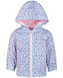 Baby Girls Ditsy Floral-Print Windbreakers, Created for Macy's