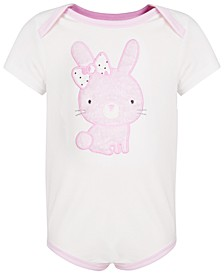 Baby Girls Bunny Bodysuit, Created for Macy's