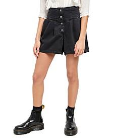 Paris Pleated Shorts