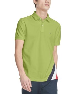 Tommy Hilfiger Men's Eric Custom-Fit Th Flex Stretch Logo Polo Shirt